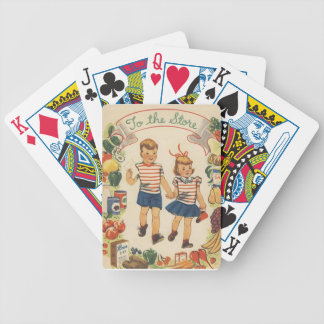 Baby Boom Kids Shopping Bicycle Playing Cards