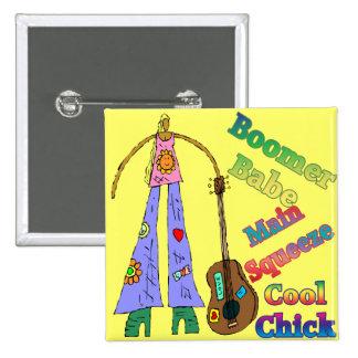 Baby Boomer Babe T-shirts Gifts Pins