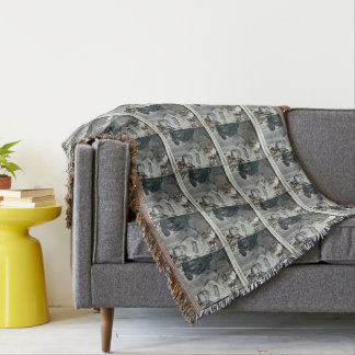 Baby Boomer Custom Throw Blanket