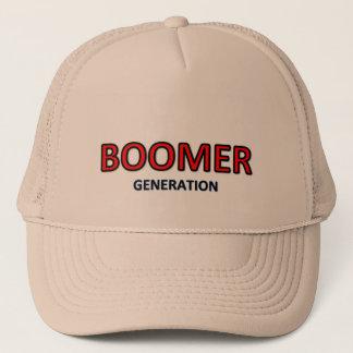 Baby boomer generation cap logo