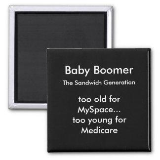 Baby Boomer Magnet