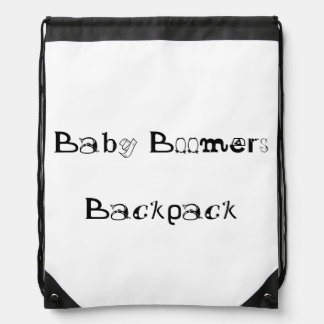 Baby Boomers Drawstring Backpack