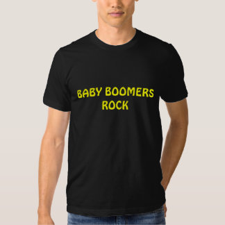 BABY BOOMERS ROCK T SHIRT