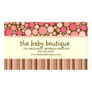 Baby Boutique Business Cards