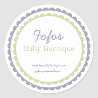 Baby Boutique Fashion Label/Sticker