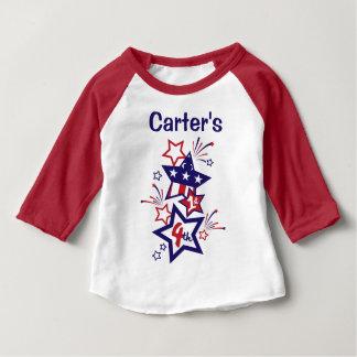 Baby Boy 1st 4th of July Shirt My 1st 4th Shirt