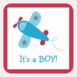 Baby Boy Aeroplane Stickers