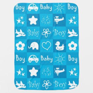 Baby boy baby blanket