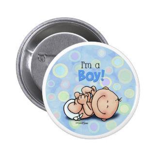 Baby Boy Button