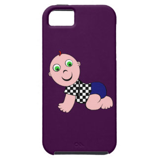 Baby Boy Bald iPhone 5 Case