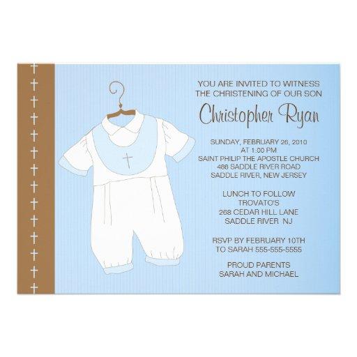 Design Baptism Invitations Free is good invitation ideas