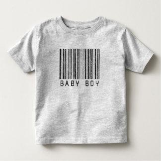 Baby Boy Barcode Shirts