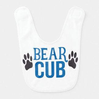 Baby Boy Bear Cub Bib