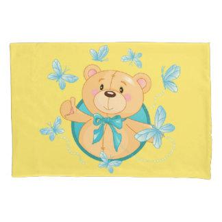 Baby Boy Bear Pillowcase