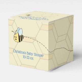Baby Boy Bee Favor Box