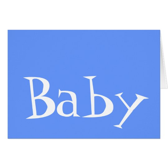 Baby Boy Birth Announcement Cards