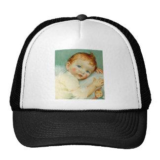 Baby boy birth birthday trucker hat
