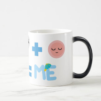 Baby Boy Birth Process Morphing Mug