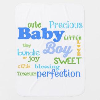 Baby Boy Blanket Receiving Blanket