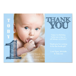 1st Birthday Thank You Notes Gifts - T-Shirts, Art, Posters ...