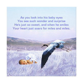 Baby Boy Canvas Prints