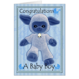 baby boy congratulations, new baby card