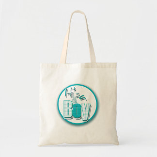 Baby boy cute bunny gifts for new moms budget tote bag