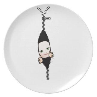 baby boy dinner plates