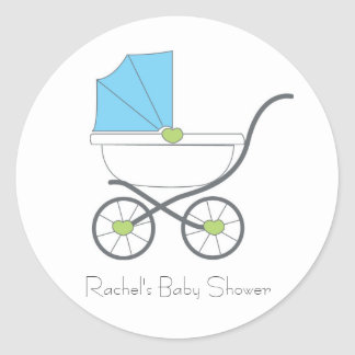 Baby Boy Favor Stickers