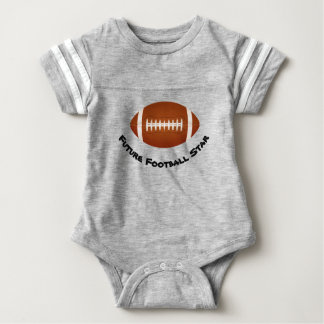 "Baby Boy Football Bodysuit ""Future Star"""