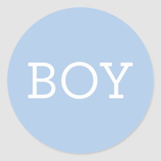 Baby Boy | Gender Reveal Party Stickers