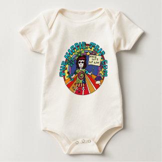 Baby Boy gets his Hippie On! Baby Bodysuit