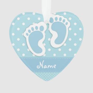 """Baby Boy"" Heart Ornament"