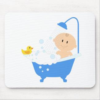 boy baby shower mouse pads. Black Bedroom Furniture Sets. Home Design Ideas