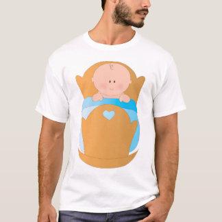 Baby Boy in Cradle T-Shirt