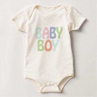 Baby Boy Infant Organic Creeper, Natural Baby Bodysuit