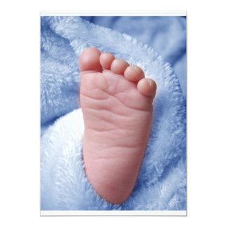Baby Boy 13 Cm X 18 Cm Invitation Card