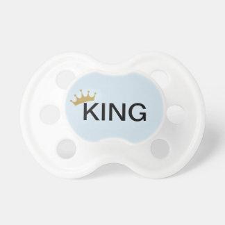 baby boy king pacifer dummy
