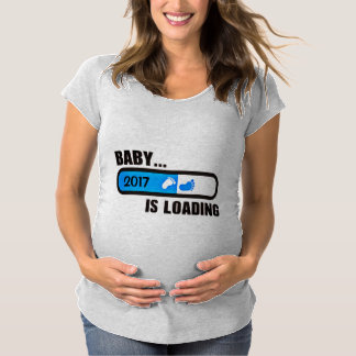 Baby Boy Loading Maternity T-Shirt