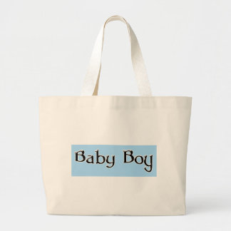 Baby-Boy-Logo Canvas Bags