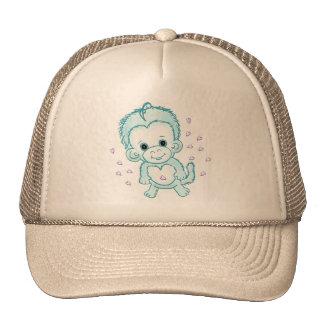 Baby Boy Monkey Cap