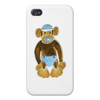 Baby Boy Monkey Diaper iPhone 4/4S Case
