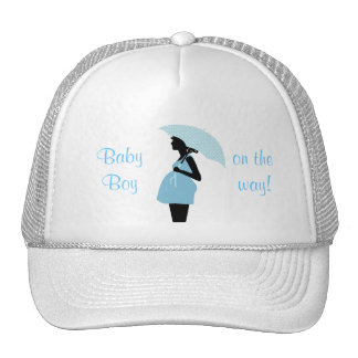 """""""Baby Boy On The Way"""" Hat"""