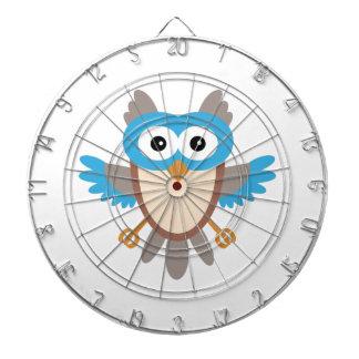 Baby Boy Owl Dart Board