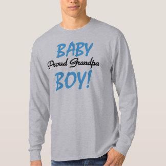 Baby Boy Proud Grandpa Tees