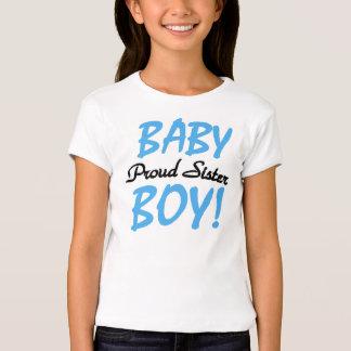 Baby Boy Proud Sister Tshirt