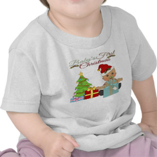 Baby Boy s 1st Christmas Infant T-Shirt