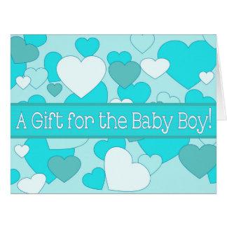 Baby Boy Shower Gift Card