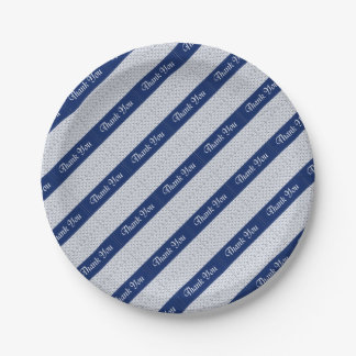 Baby Boy Shower Stork Blue Favors Party Supplies 7 Inch Paper Plate