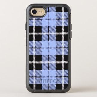 Baby boy sky light blue white/black stripe OtterBox symmetry iPhone 8/7 case